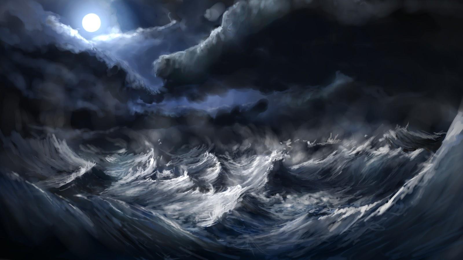 Resultat d'imatges de tormenta en el mar