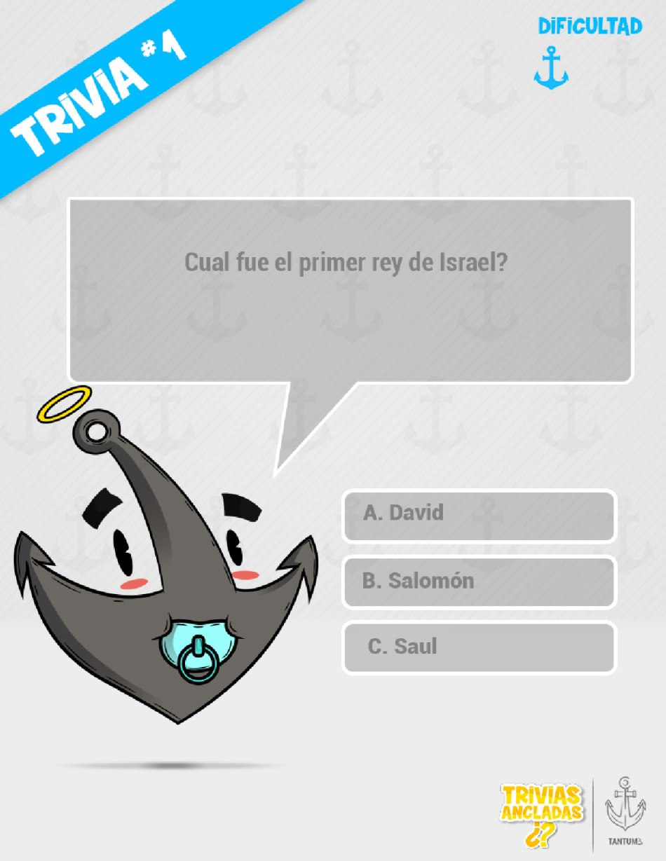 Trivias Ancladas Facil #1 - Tantum Ev